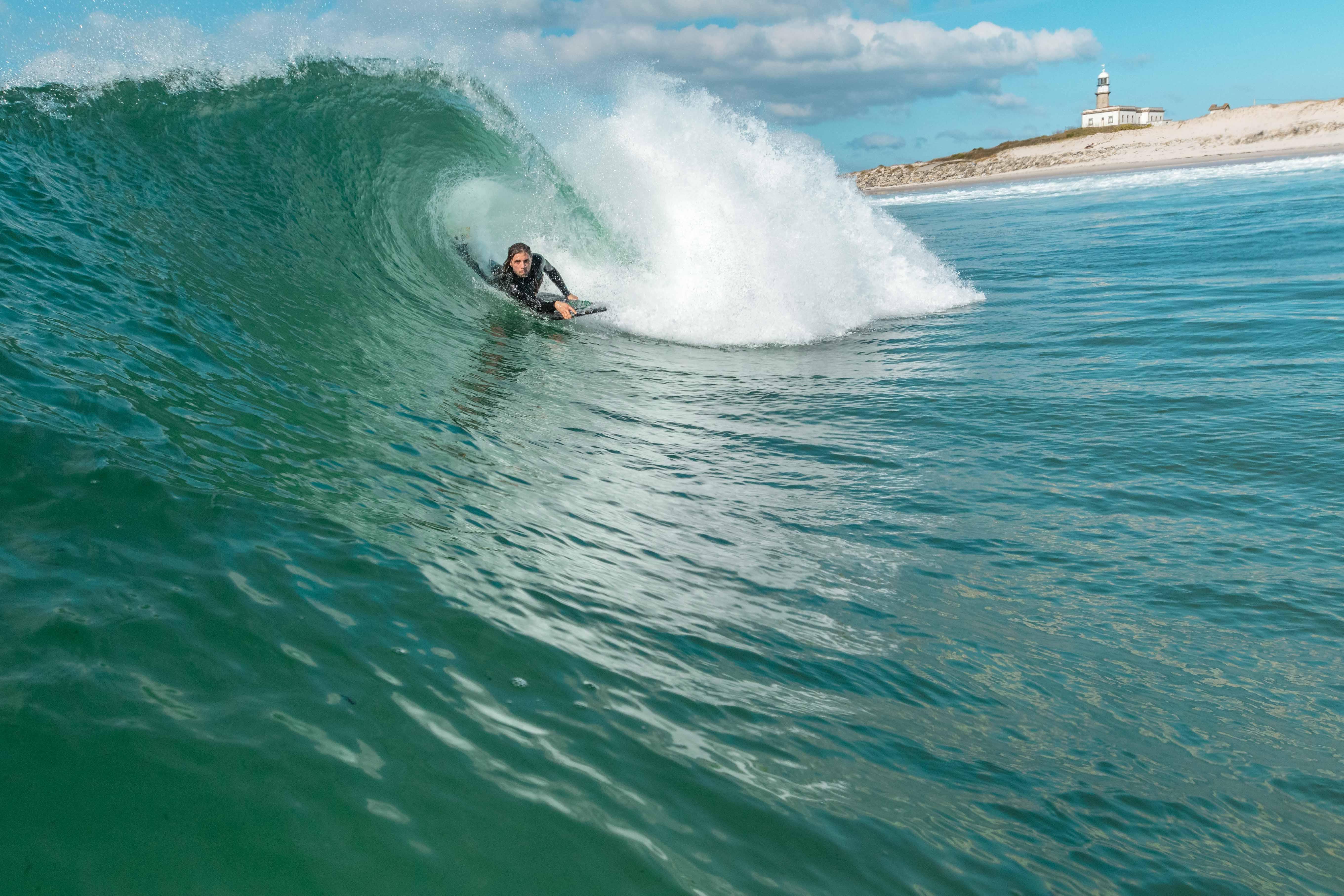 waves galicia LARIÑO razsurfcamp bodyboard surf 3 amigos