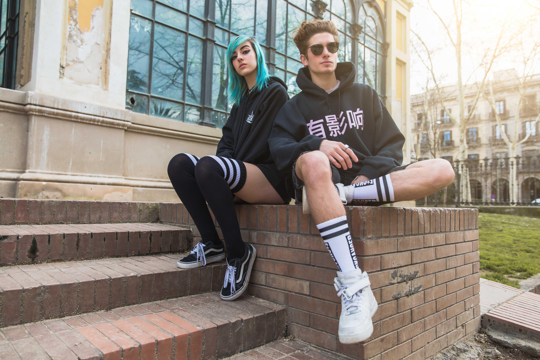moda surfera streetwear surfing clothing american socks